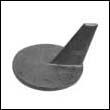 46399 Mercury/Mercruiser Racing Trim Tab Zinc Anode