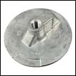 76214-5A Mercury/Mercruiser Flat Trim Tab Aluminum Anode