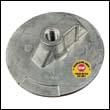 76214-5M Mercury/Mercruiser Flat Trim Tab Magnesium Anode