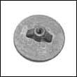 A76214 Mercury Flat Trim Tab Zinc Anode