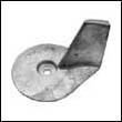 822157 Mercury 30-50 HP Outboard Trim Tab Zinc Anode