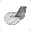 822157A Mercury 25-50 HP Outboard Trim Tab Aluminum Anode