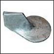 822777 Mercury Outboard Trim Tab Zinc Anode