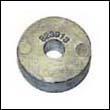 823913 Mercury 2.2-3.3 HP Outboard Trim Tab Zinc Anode