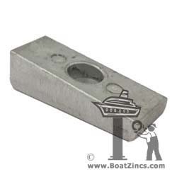 826134A Mercury Wedge Aluminum Anode