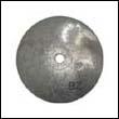 847266 Mercury K-Plane Trim Tab Aluminum Anode