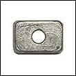 875208 Mercury 4-9.9 HP Outboard Trim Tab Zinc Anode