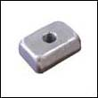 875208A Mercury 4-9.9 HP Outboard Trim Tab Aluminum Anode