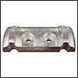 880653A Verado 6 Manifold Aluminum Anode