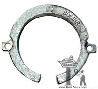 806188A Mercruiser Bravo One Bearing Carrier Aluminum Anode