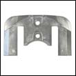 821630A Mercruiser Bravo Plate Aluminum Anode