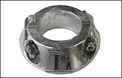 Max Prop 70mm Saildrive Split Ring Zinc Anode