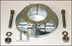 70mm Max Prop Saildrive Split Ring Zinc Anode