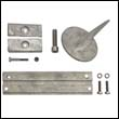 Mercury Outboard Aluminum Anode Kit With Fin