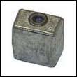 436745 Johnson/Evinrude Gearcase Zinc Anode (393023)