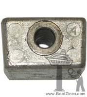 Aluminum Anode for OMC Cobra /& Johnson Evinrude Outboard Repl 436745