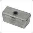 397768A Johnson/Evinrude 250-300 HP Gearcase Aluminum Anode