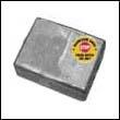 433458M Johnson/Evinrude Transom Bracket Magnesium Anode (398331M)