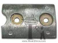 431708A Johnson/Evinrude Bearing Housing Aluminum Anode