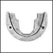 983494 OMC Cobra Horseshoe Zinc Anode