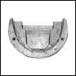 984513A OMC Cobra Front Gearcase Aluminum Anode