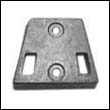 984547 OMC Gimbal Plate Zinc Anode