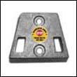 984547M OMC Gimbal Plate Magnesium Anode