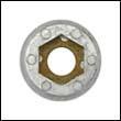 "P-2 Perry Propeller Nut Zinc Anode – 7/8"" shaft"