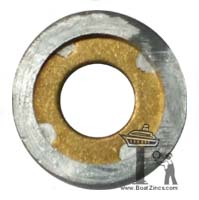 "P-5 Perry Propeller Nut Zinc Anode – 1-1/4"" shaft"