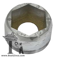 "P-9 Perry Propeller Nut Zinc Anode - 2"" shaft"