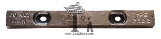 Bolt-On Bar Zinc Anodes