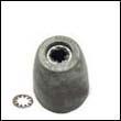 Propeller Nut A Aluminum Anode