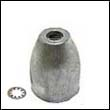 Propeller Nut B Aluminum Anode