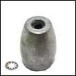 Propeller Nut C Aluminum Anode