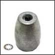 Propeller Nut C Zinc Anode