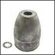 Propeller Nut D Aluminum Anode