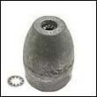 Propeller Nut E Aluminum Anode