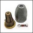 Propeller Nut E with Zinc Anode – Complete