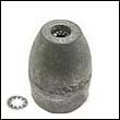 Propeller Nut E Zinc Anode