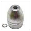 Propeller Nut F Zinc Anode