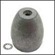 Propeller Nut G Aluminum Anode