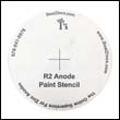 FREE!!!  Bottom Paint Stencil for the R-2 Anode (One pair)