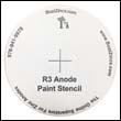 Paint Stencil for the R-3 Anode