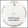 FREE!!!  Bottom Paint Stencil for the R-4 / R-5 Anode (One pair)