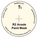 BoatZincs.com R2 Anode Bottom Paint Stencil