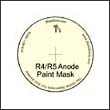 Paint Masks for the R-4/R-5 Anode