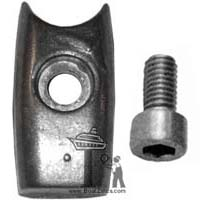 SM71180 Side-Power Zinc Anode with mounting screw