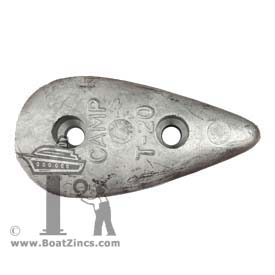 T-20 Small Teardrop Zinc Anode
