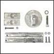 Mercury Verado 4 Aluminum Anode Kit