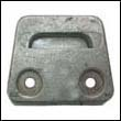 3854130A Volvo Penta SX Outdrive Gimbal Plate Aluminum Anode (3586461)